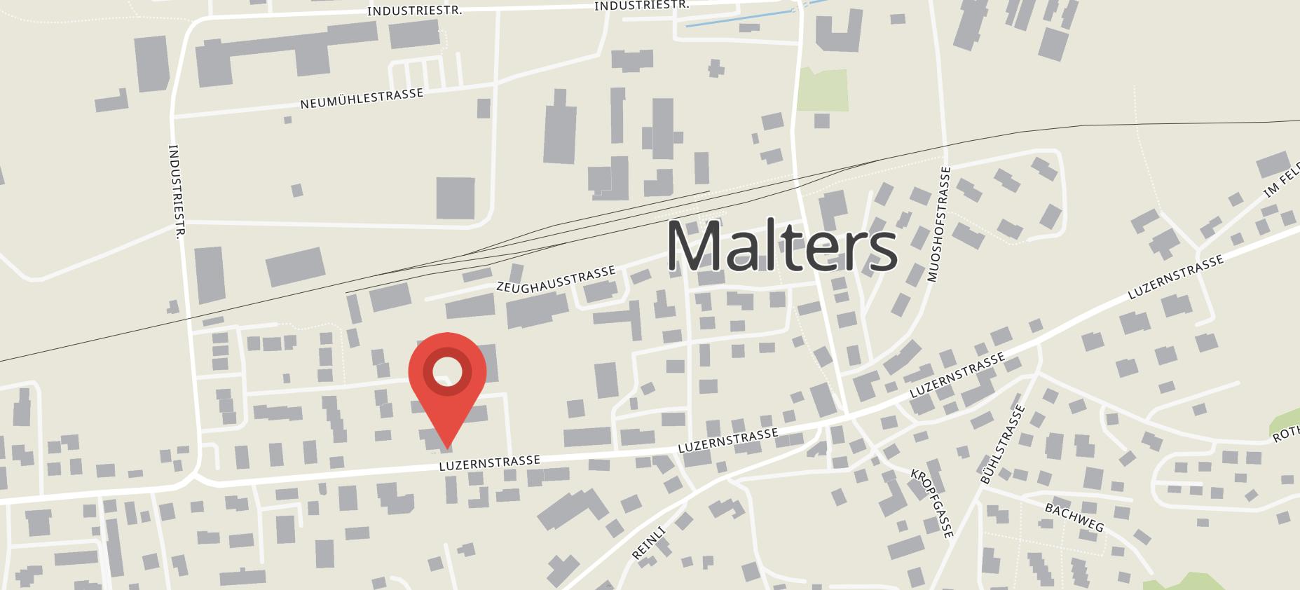 Aerztezentrum Malters Karte und Link